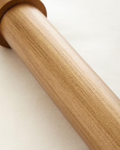 4'L Renaissance Gold Smooth Curtain Rod