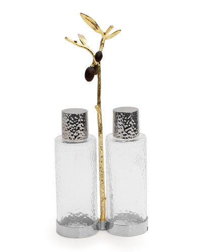 Olive Branch Cruet Caddy