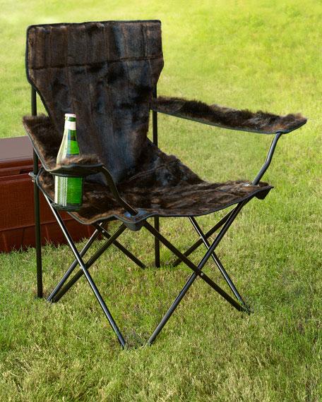 Fantastic Faux Fur Spectator Chair Theyellowbook Wood Chair Design Ideas Theyellowbookinfo