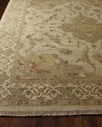 Mint Tapestry Rug, 3'9