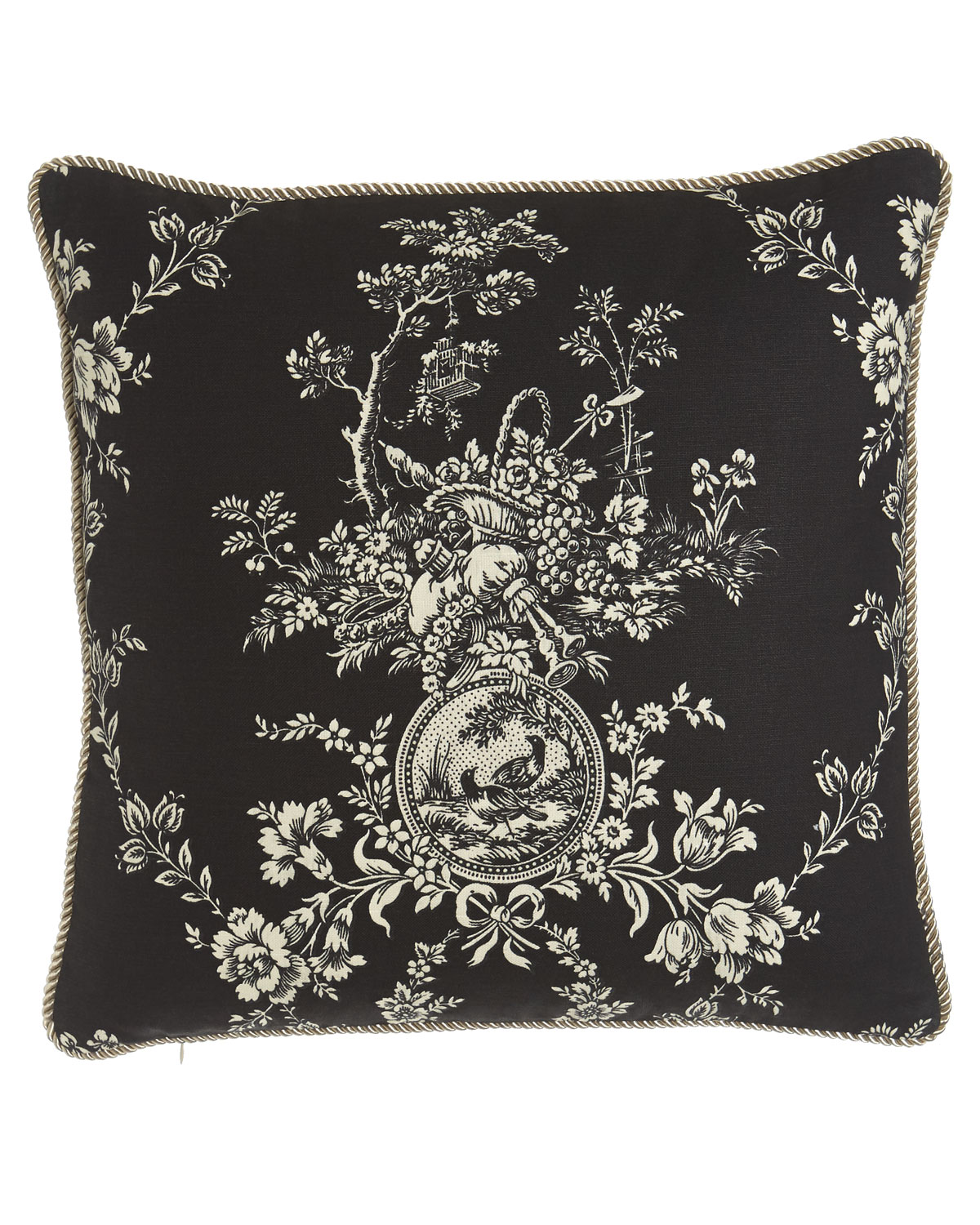 Sherry Kline Home Quot French Toile Quot Pillow 20 Quot Sq