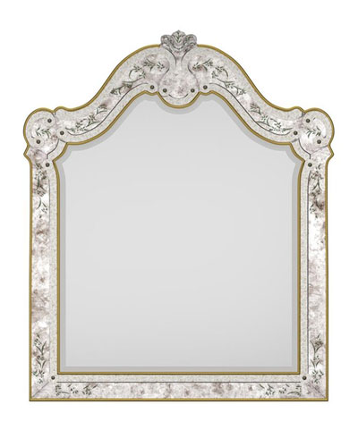 Swirl Venetian Eglomise Mirror