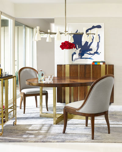 Dining Tables : Outdoor & Glass-Top Dining Table at Neiman Marcus ...