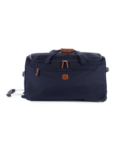 "Navy X-Bag 28"" Rolling Duffel Luggage"