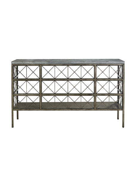 Manuel Metal & Stone Console