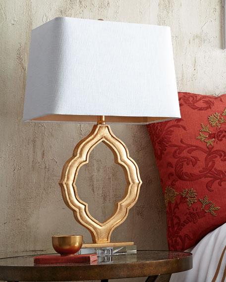 Gold Oval Marrakech Style Lantern By London Garden Trading