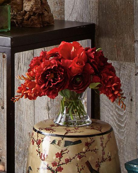 Prestigious Berry Faux-Floral Arrangement