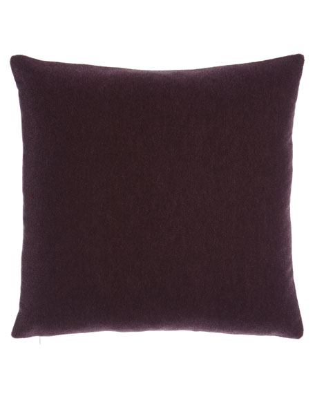 Bach Boysenberry Mohair Pillow