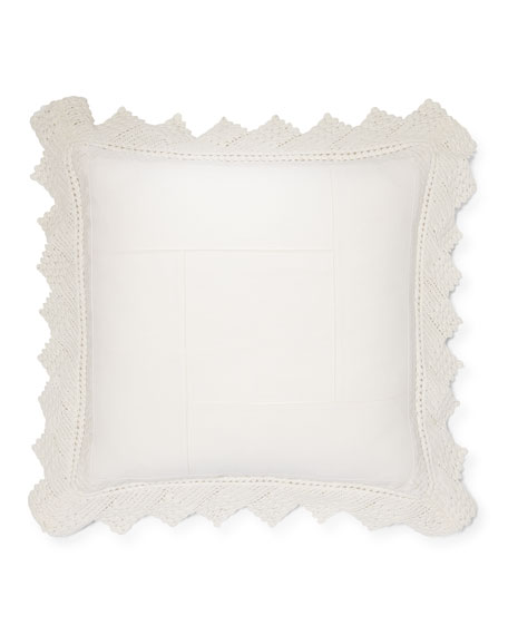 "Saranac Peak Kayla Pillow, 18""Sq."