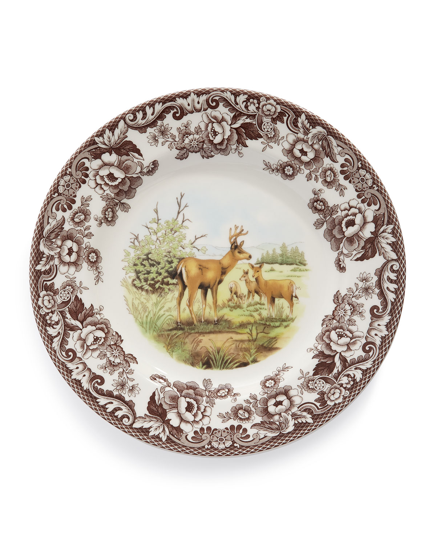 Spodewoodland Deer Dinner Plates Set Of 4