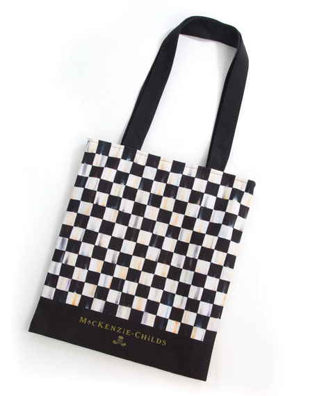 Courtly Check Tote