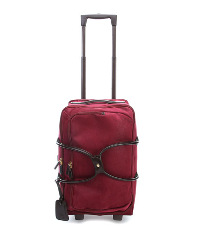 Life Garnet Carry-On Rolling Duffel