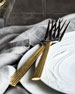 5-Piece Golden Wheat Flatware Place Setting