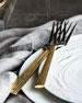 5-Piece Golden Wheat Flatware Place Setting