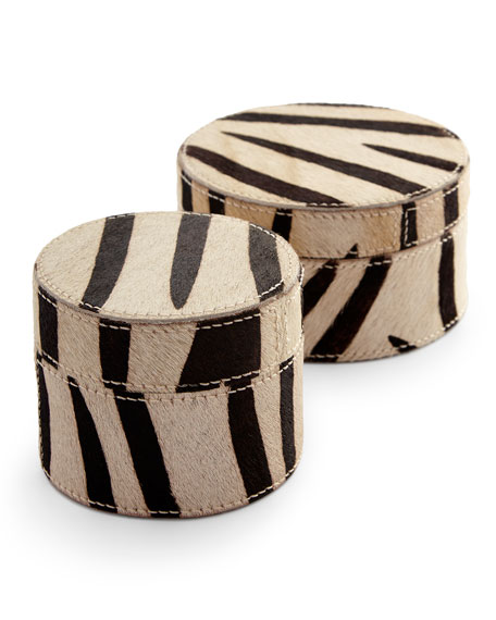 Nairobi Boxes, 2-Piece Set