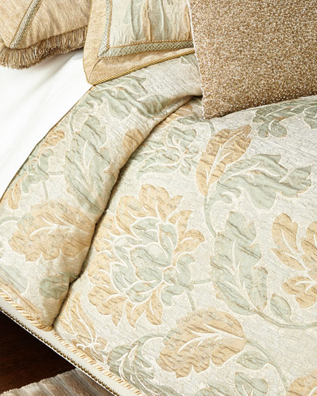 Queen Gwenneth Floral Duvet Cover