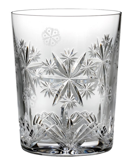 Snowflake Wishes 2016 Wishes for Serenity Clear Double Old-Fashioned