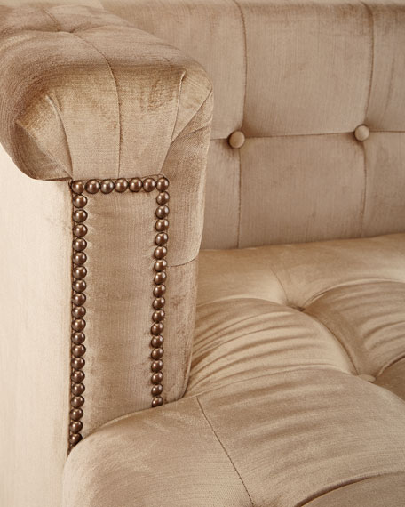 Majestic Tufted Wedge Chaise