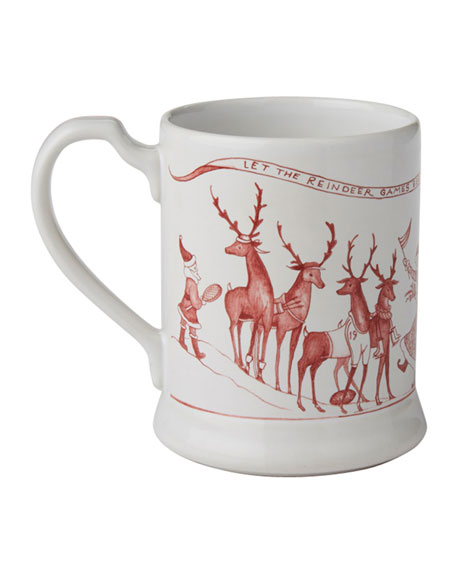 Country Estate Reindeer Games Mug