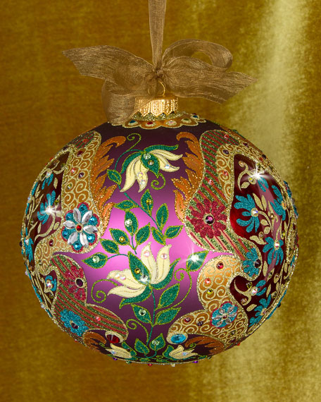 Limited Edition Luxury Christmas Ornaments: Jay Strongwater 2016 Limited Edition Opulent Christmas