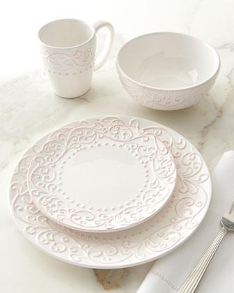 16-Piece Bianca Scroll Dinnerware Service