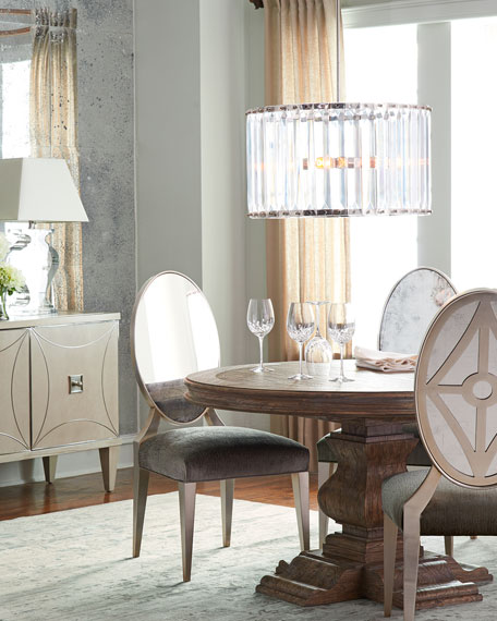 Starling Eglomise Side Chair