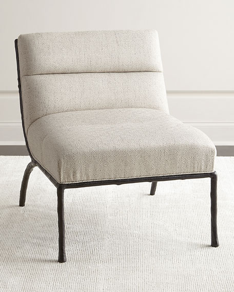 Shiro Channel-Tufted Chair
