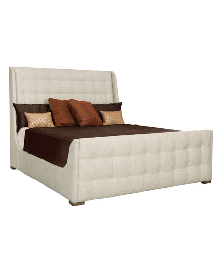 Continental Tufted Queen Bed