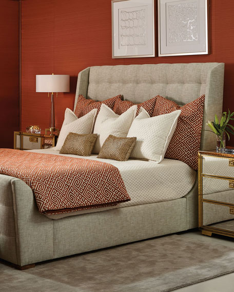 Continental Tufted California King Bed