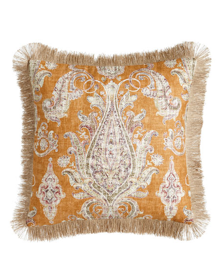 "Fair Trade Pillow, 22""Sq."