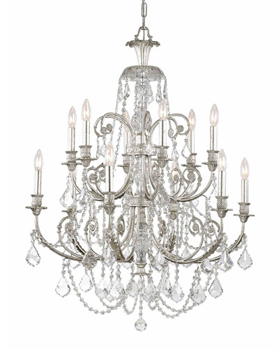 Crystorama Regis 12-Light Chandelier