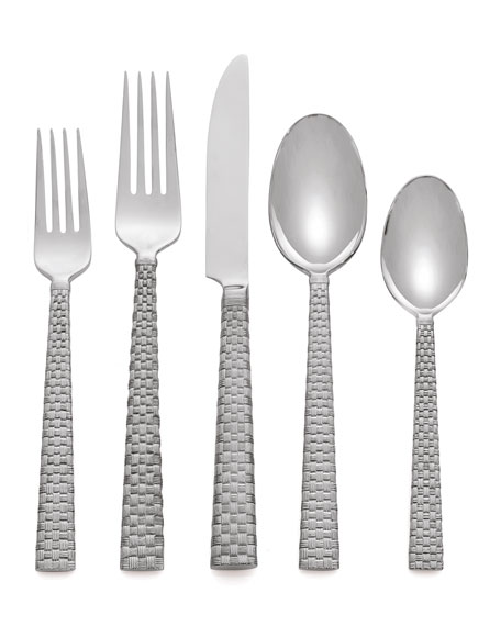 5-Piece Palm Flatware Place Setting