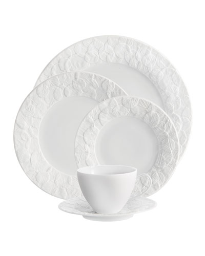 5-Piece Forest Leaf Dinnerware Place Setting