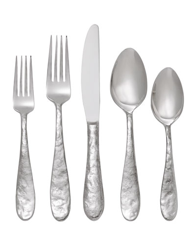 5-Piece Cast Iron Flatware Place Setting