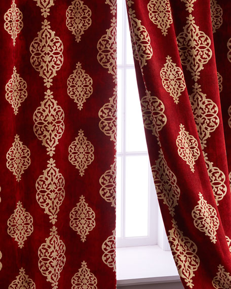 "Each 52""W x 108""L Camelot Curtain"
