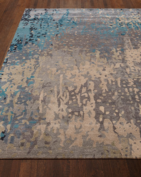 Mermaid Sea Rug, 5' x 8'