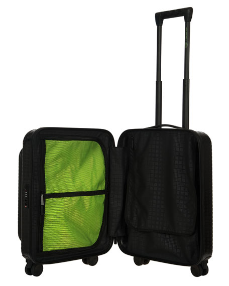 "Moleskine by Bric's 21"" Polycarbonate Spinner with Pocket Luggage"