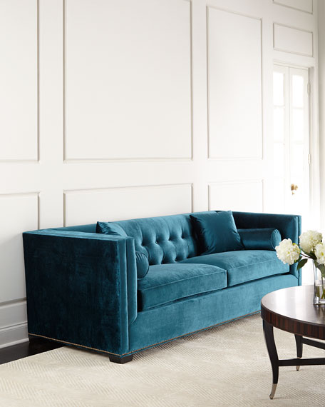 High Quality Jade Tufted Sofa