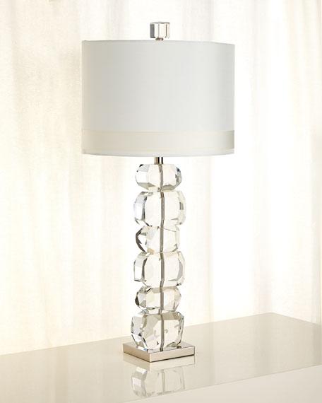 Lynx Stacked Gemstone Lamp