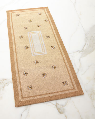 Striped Bee Table Runner