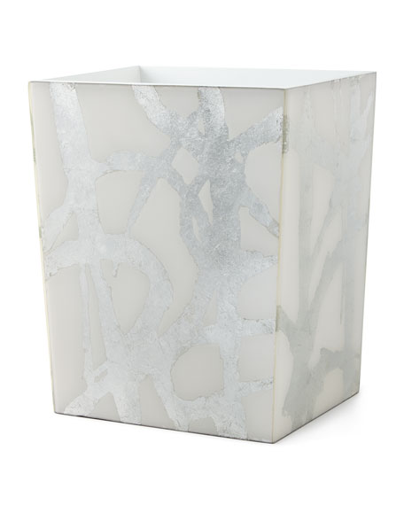 Abstract Wastebasket