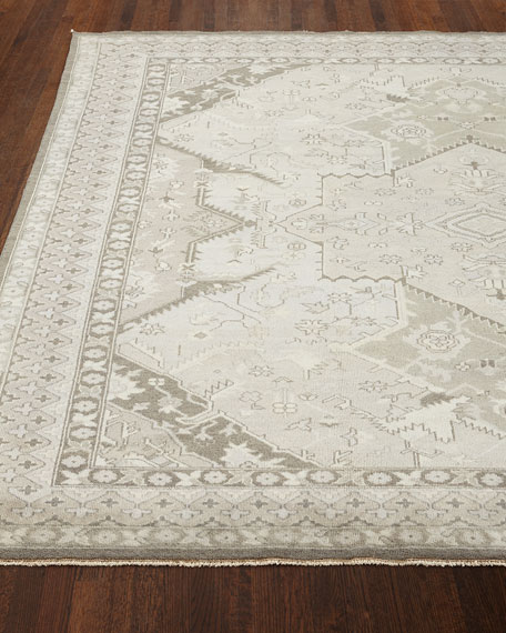 Reynolds Dove Gray Rug, 4' x 6'