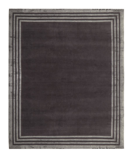 Ellington Border Rug, 4' x 6'