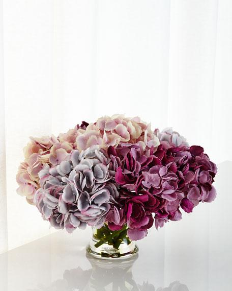 Hydrangea Faux-Floral Arrangement