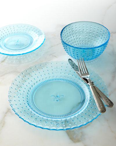 12-Piece Renaissance Blue Dinnerware Service