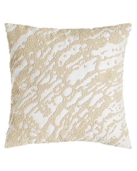 Donna Karan Home Rhythm Abstract Beaded Pillow, 14