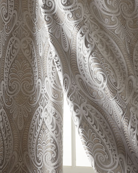 """Two 108""""L Coppolino Curtains"""