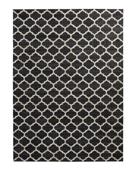 "Samovar Hairhide Rug, 11'6"" x 14'6"""