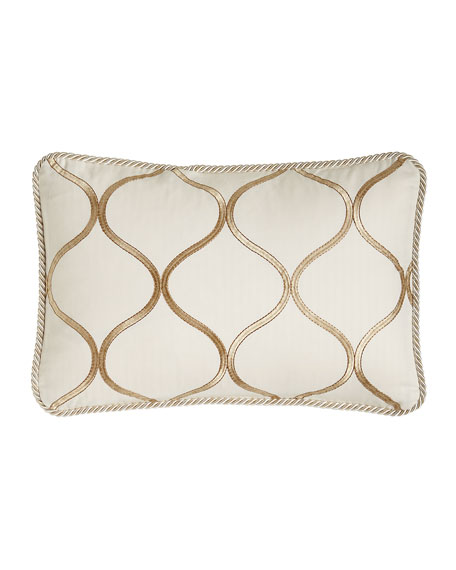 "Adele Ogee Pillow, 14"" x 20"""