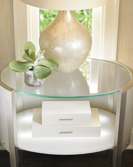 Millet Oval Nightstand